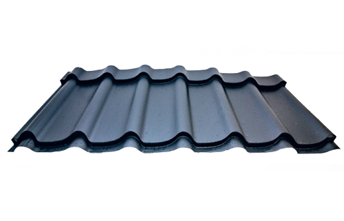 Steel roofing tile METIS